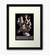 Warehouse 13 girls Framed Print