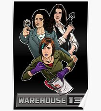 Warehouse 13 girls Poster