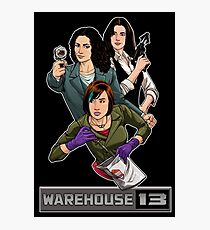 Warehouse 13 girls Photographic Print