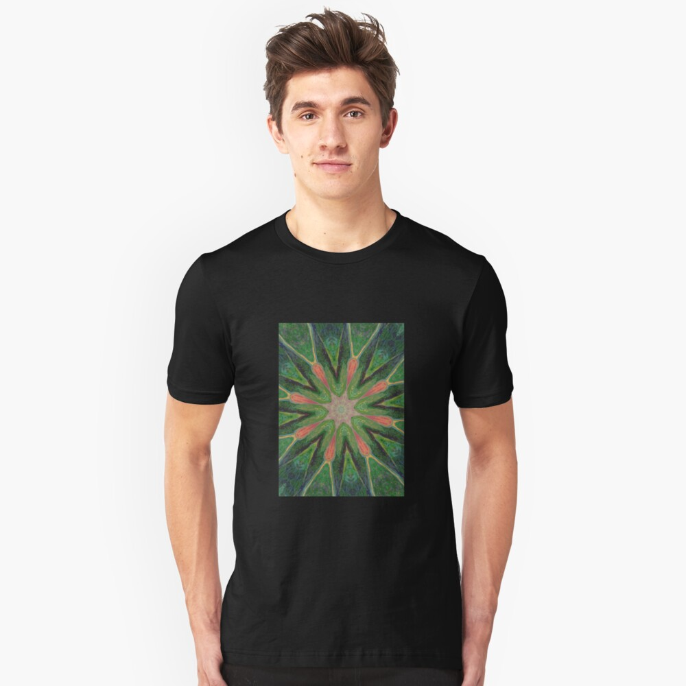 Calla Lily,Mirrored Unisex T-Shirt Front