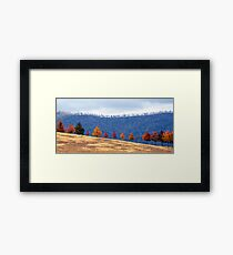 Autumn Parade Framed Print