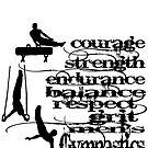 Gymnastics - Men's Gymnastics-Back by Marlo Saucedo
