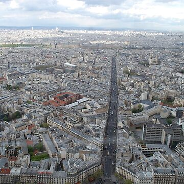 Paris from Above by rachaelroyalty
