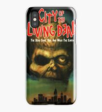CITY OF THE LIVING DEAD iPhone Case