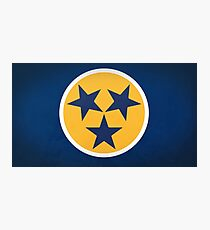 Nashville Blue and Gold Inspired Art Photographic Print
