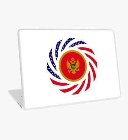 Montenegrin American Multinational Patriot Flag Series Laptop Skin