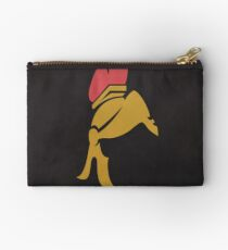 Ottawa Red and Gold Inspired Art Studio Pouch