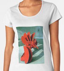 Sculpture in Red Women's Premium T-Shirt