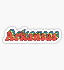 Groovy Arkansas Sticker