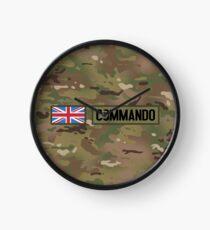 British Flag: Commando Clock