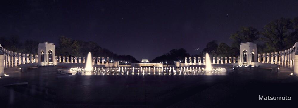 The World War II Memorial Plate #2-Washington D.C. by Matsumoto