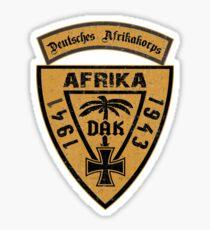 DAK -  Deutsches AfrikaKorps - Africa 1941-43 Sticker