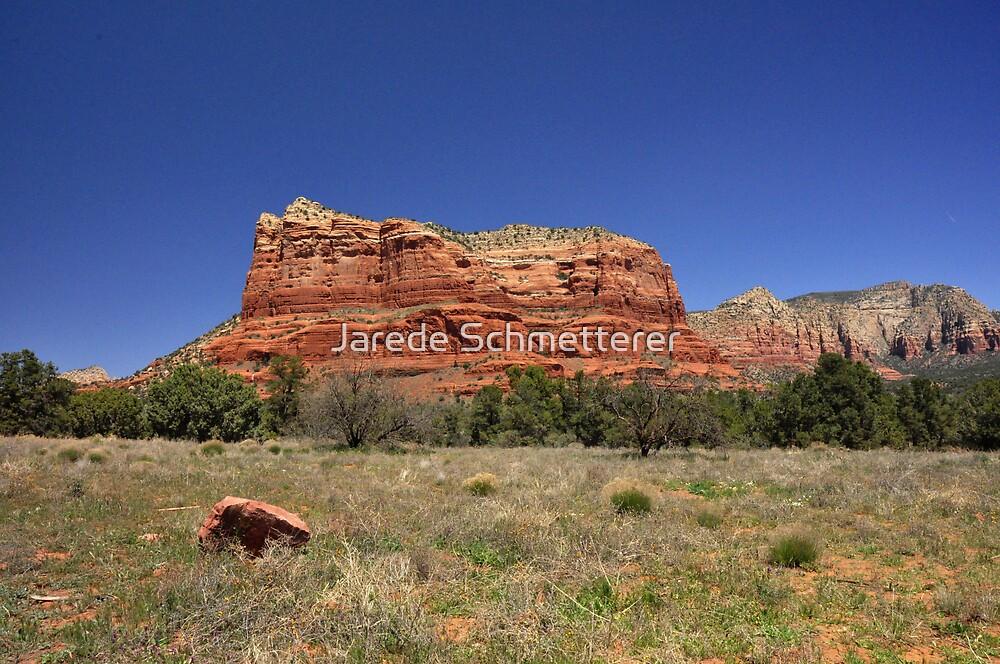Red Rock by Jarede Schmetterer