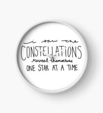 I Saw the Constellations - Bobcaygeon - The Tragically Hip Clock