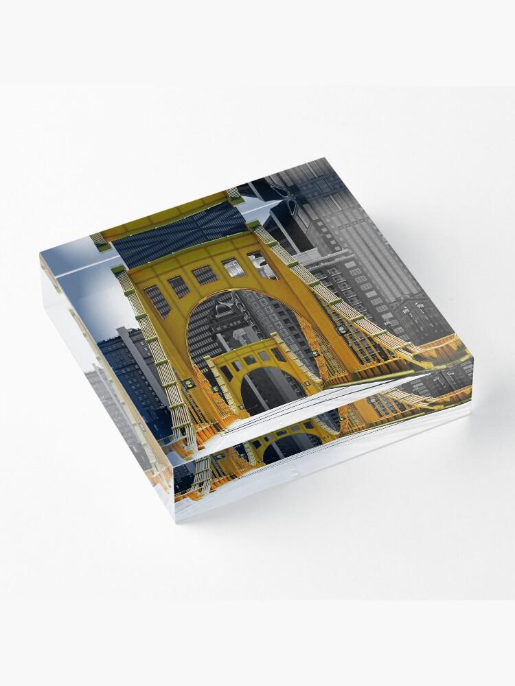 Alternative Ansicht von Warhol Acrylblock