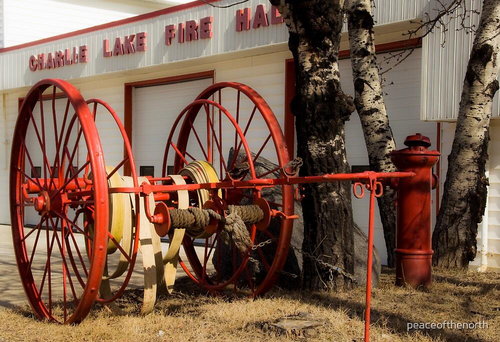 Charlie Lake Fire Hall by peaceofthenorth