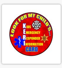 Look for my KERI card decal Sticker