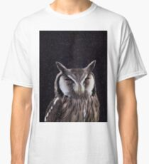 Simple Owl in Space 2 Classic T-Shirt