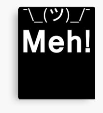 Meh! Character Gift Canvas Print