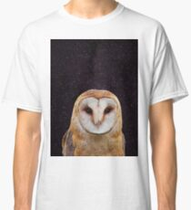 Simple Owl in Space 3 Classic T-Shirt