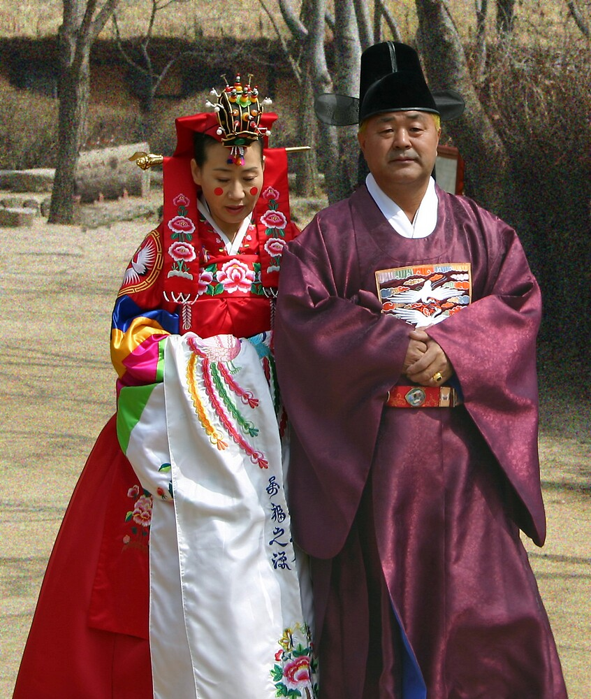 Korean Wedding Parents by UnclePhil