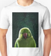Simple Parrot in Space 1 Unisex T-Shirt