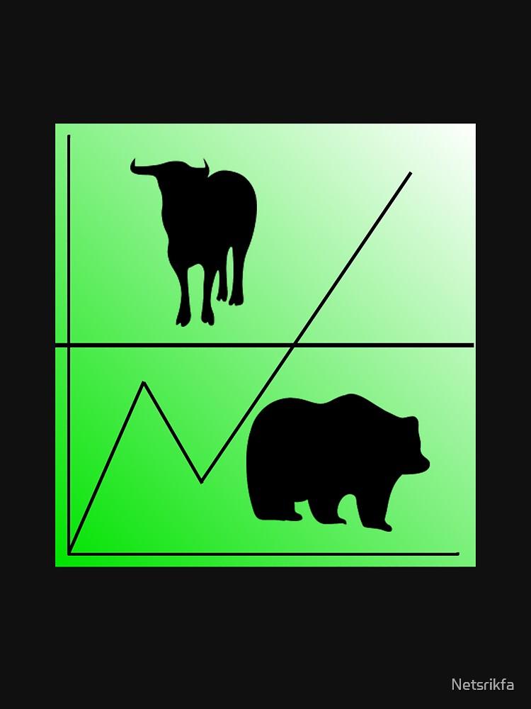 Bulle Bear Stock Exchange by Netsrikfa