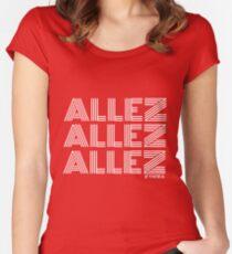 #AllezAllezAllez Women's Fitted Scoop T-Shirt