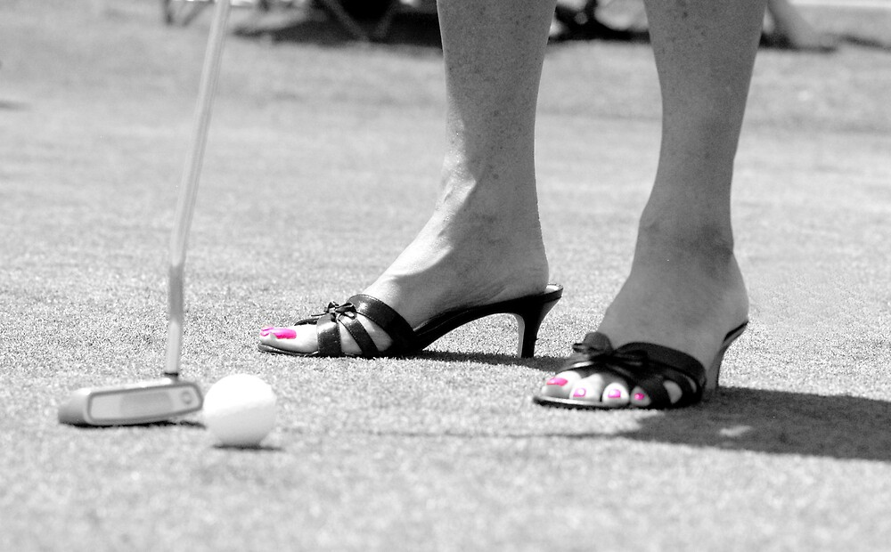 Golfing is Fashionable by Bill Gamblin