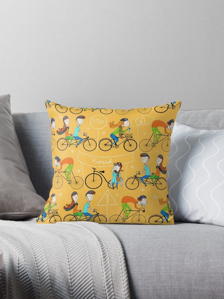 Pattern 81 - I love cycling!  by Irene Silvino