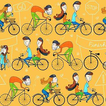 Pattern 81 - I love cycling!  by IreneSilvino