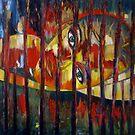 "*RON RADO* EXHIBITION 2009 ENTRY by Belinda ""BillyLee"" NYE (Printmaker)"