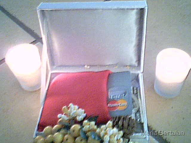 The funeral of the credit card and the money... by Maria Bertalan