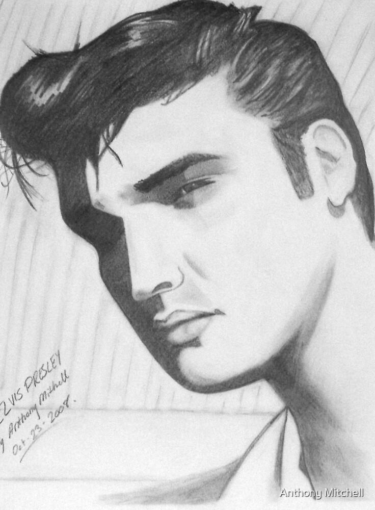 Elvis Presley - Anthony Mitchell by Anthony Mitchell