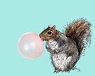 Bubblegum Squirrel by heARTcart