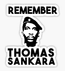 Remember Thomas Sankara Sticker