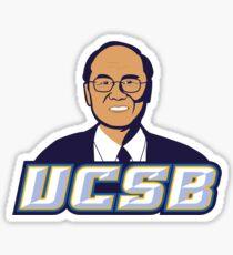 UCSB Daddy Yang Logo Sticker