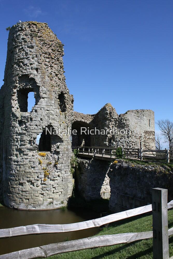 Pevensey Castle by Natalie Richardson