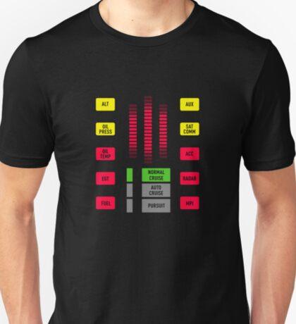 Season 4 Knight Rider K.I.T.T. dash  T-Shirt