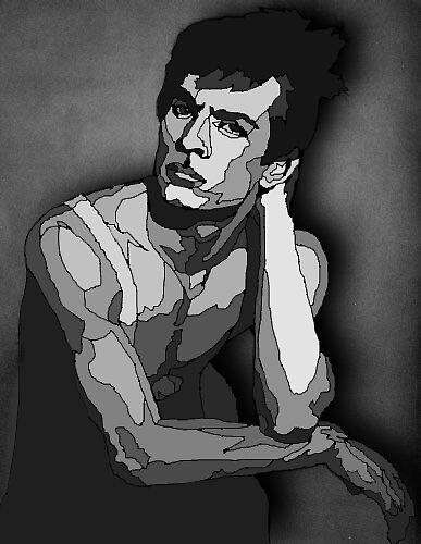 Rudolf Nureyev by Myles Joseph