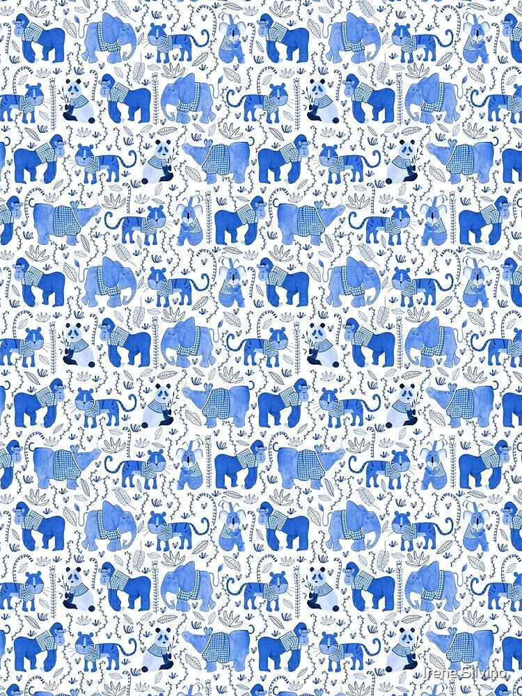 Pattern 80 - Endangered animals in shirts  by IreneSilvino