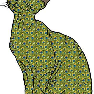 Gato Trippy de Plantlifegirl