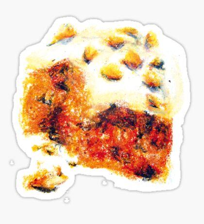 Gâteau crème dessin Sticker