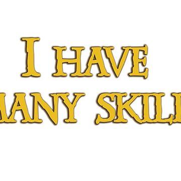 Xena - I have many skills by Hurricane94