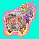Subway Sam Rides Again by Nate Bear