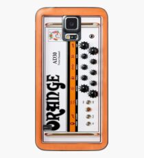 orange guitar amp Case/Skin for Samsung Galaxy