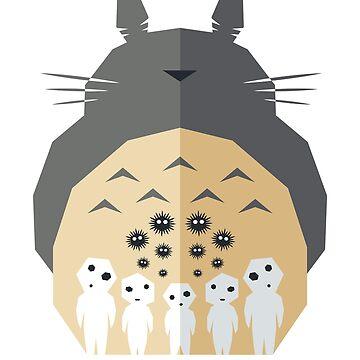 Minimal Ghibli by Eilex-Design