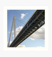 Batman Bridge Art Print