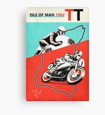 Vintage Isle of Man TT Canvas Print