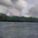 Clouds Over Wonalancet Chapel by Wayne King